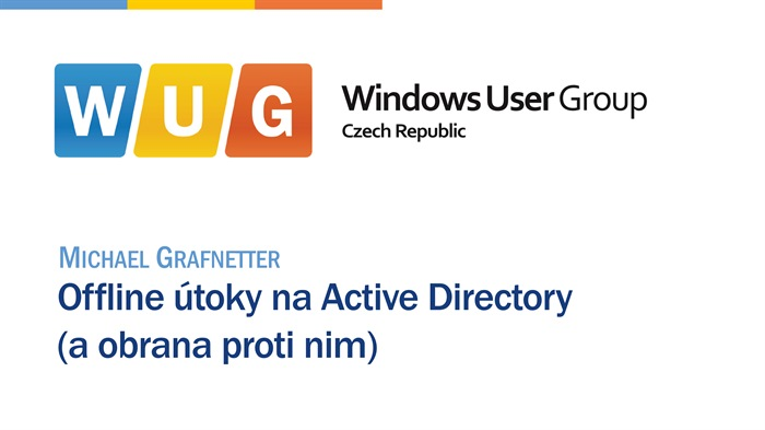 Offline útoky naActive Directory (a obrana proti nim)
